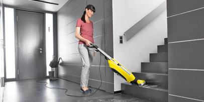 Reinigung von Treppen