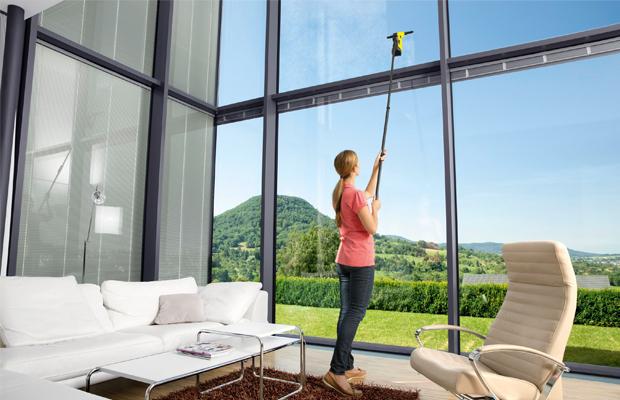 Batteridriven fönsterputs som ger dig allt du behöver för hela fönsterputsningen
