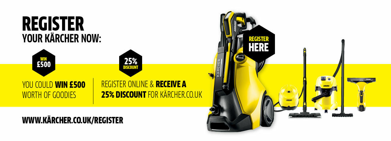 Register your Karcher Product