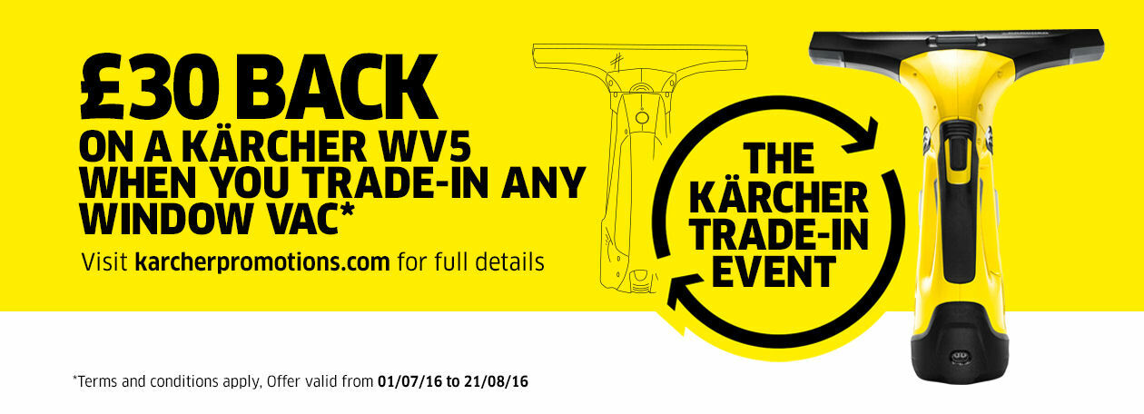 Karcher Window Vac trade in