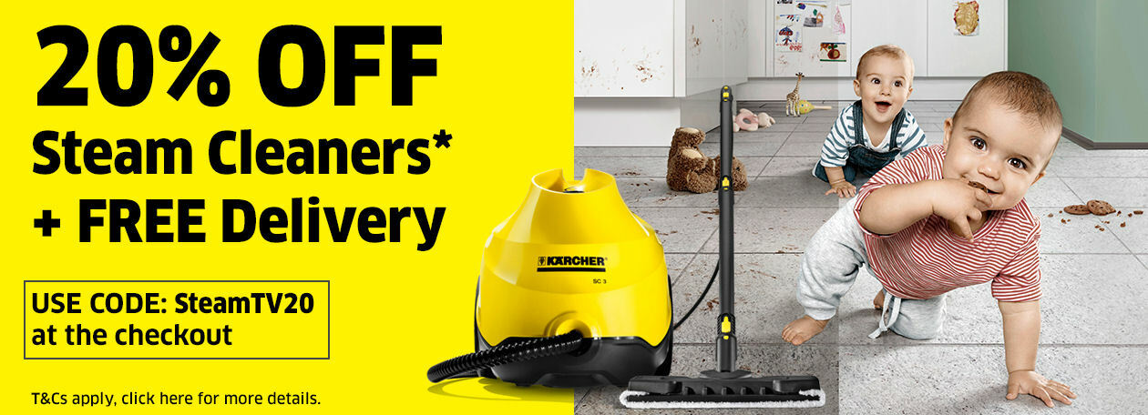 Karcher steam cleaner offer