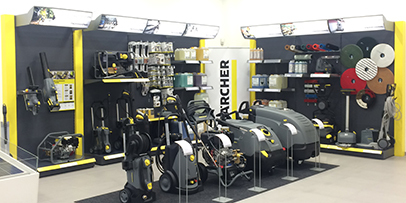 Karcher Center Banbury shop interior