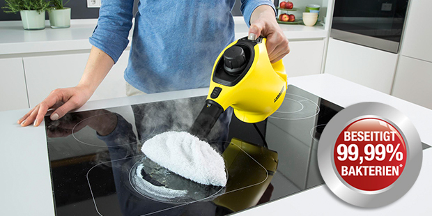 dampfreiniger schonend und effektiv reinigen k rcher. Black Bedroom Furniture Sets. Home Design Ideas