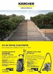 Promo Anual Karcher Center Professional