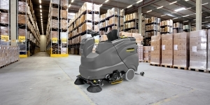 General Manufacturing Cleaning for Industry - Industrial Floor Care Machine