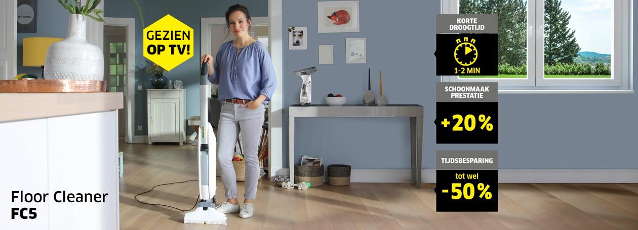 Karcher Floor Cleaner FC 5  Zuigen  u0026 dweilen in  u00e9 u00e9n beweging   K u00e4rcher