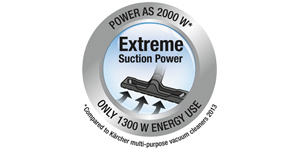 extreme suction power