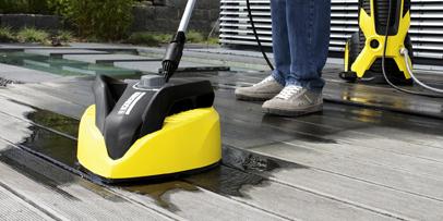 Čišćenje terasa pomoću Kärcher T-Racer
