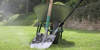 Čišćenje baštenskih uređaja