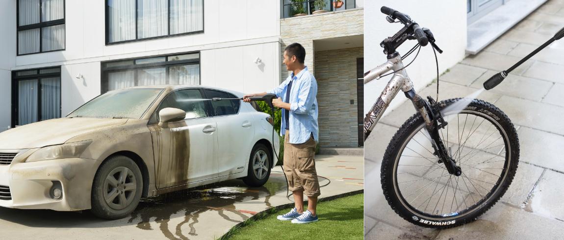 車・自転車の洗浄イメージ