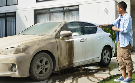 車掃除カンタン洗浄ポイント
