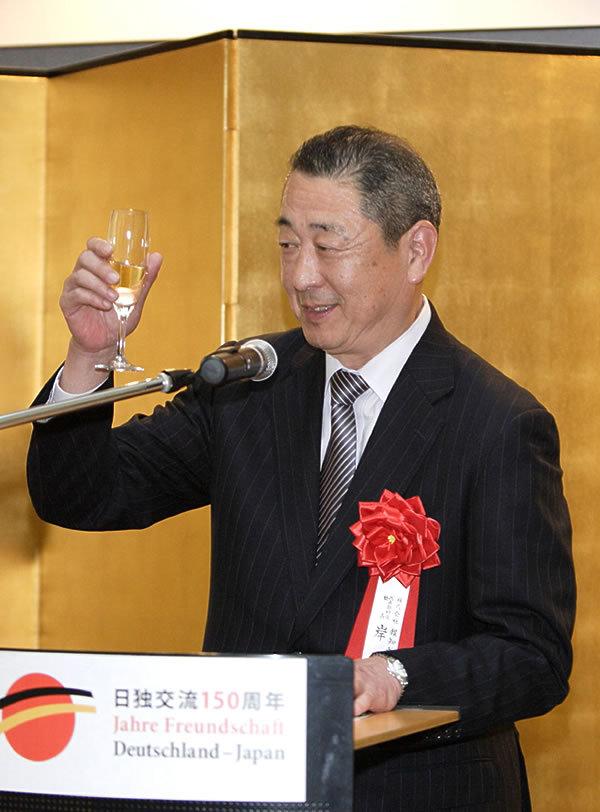 報知新聞社 代表取締役社長 岸洋人社長