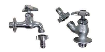 ホース接続水栓③(ネジ式タイプ)