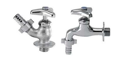 ホース接続水栓①、②