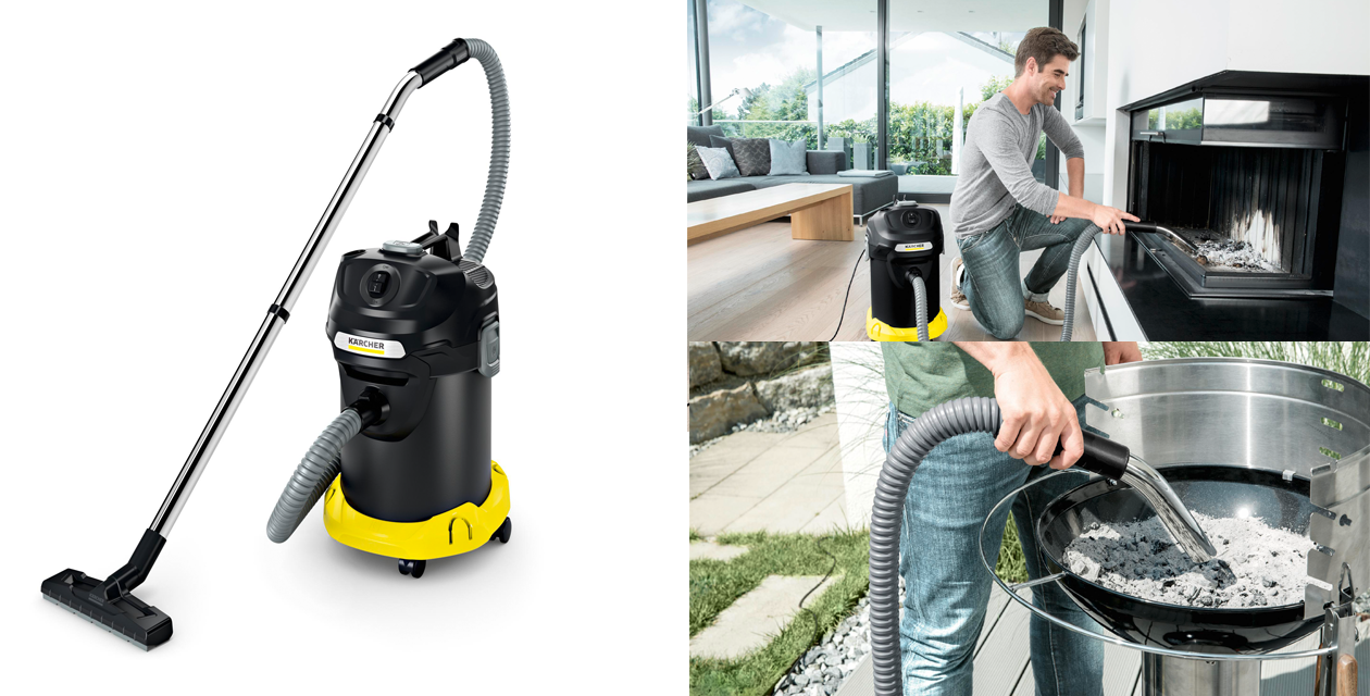 aspirateur vide cendres home&garden | kärcher